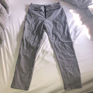 Urban Outfitters Susie High Waisted Front Zip Pant